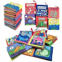 Cloth Book for Baby Soft Activity Books for Baby, Toddler, I