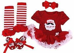 Baby Rae Clothing 4 in 1 Set: Skirt Shortall+Head Band+Leggi