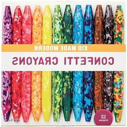 Confetti Coloring Crayons Multi Color Kids Art Craft Supplie