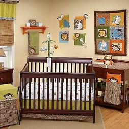 4 Pieces Congo Bongo Crib Bedding Set By Nojo