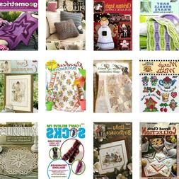 CRAFTING KNITTING SEWING BOOKS - DIY Sweaters Baby Scarfs Gi