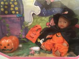 Zapf Creations Baby Born Miniworld Halloween Witch Doll Set