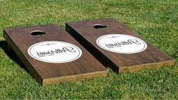 Customizable Circles of Love  Cornhole Game With Bags Backya