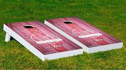 Customizable The Love & Laughter Cornhole Game W/ Bags Backy