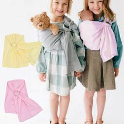 Cute Kids Boys Girls Baby Plush Doll Pets Sling Ring Carrier