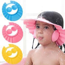 Cute Shower Bathing Ear Hair Shield Kids Baby Protect Ear Ha