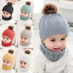 Cute Toddler Kids Girl&Boy Baby Infant Winter Warm Crochet K
