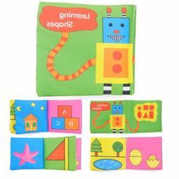 Cute Toys Fabric Intelligence Development Baby Cloth Book Ed