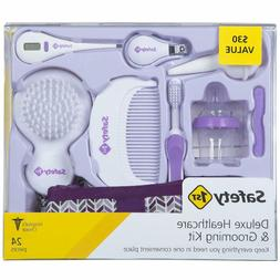 Safety 1St Deluxe Healthcare  Grooming Kit, Pyramids Grape J