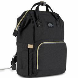 Diaper Bag Multi-Function Waterproof Travel Backpack Nappy B