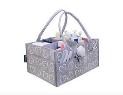Diaper Caddy, Portable/ Travel Nursery Storage, Large Size O