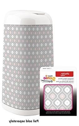 Playtex Diaper Genie Expressions Fabric Sleeve Pail - Pink a