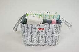 Diaper Storage Caddy By Danha – Portable Diaper Bag And St