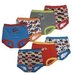 Disney Cars Boys Potty Training Pants Underwear Toddler 7-Pa