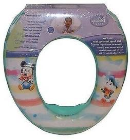 DISNEY MICKEY MOUSE PADDED TOILET SEAT BABY TODDLER INFANT P