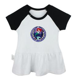 Disney Princess Ariel The Little Mermaid Baby Girl Dresses I