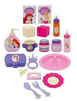 Disney Princess Deluxe Doll Care Set Pretend Play Baby Dolls