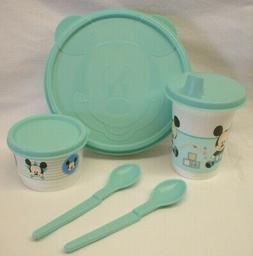Tupperware Disney's Baby Mickey Mouse Feeding Set