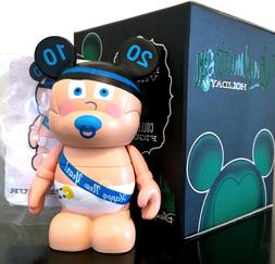 "DISNEY VINYLMATION 3"" HOLIDAY 1 SERIES HAPPY NEW YEAR BABY 2"