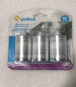 Safety 1st Disposable Diaper Bag Dispenser Refill Rolls
