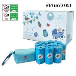 Disposable Diaper Bags Compostable Diaper Sacks 120 Counts W