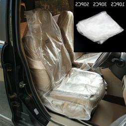 Disposable Plastic Car Seat Protective Covers Film For repai