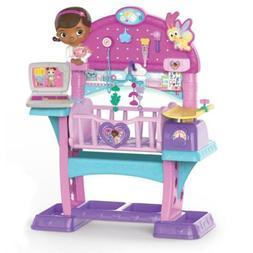 Doc McStuffins Baby Doll Nursery Bed Crib Play Set Kids Todd