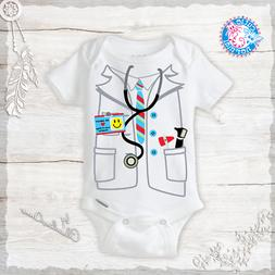 Doctor or Nurse Costume Onesie Funny Baby Boy Clothes Baby S