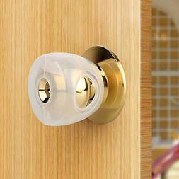 Door Knob Safety Cover Semitransparent Door Handle Child Pro