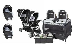 Double Baby Stroller Baby Trend Car Seat Travel System with