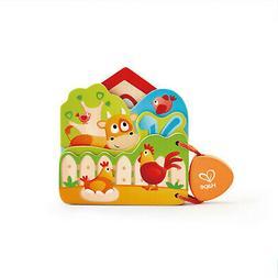HAPE E0046 Baby's Farm Animal Reading Book Infants Children