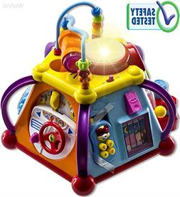 Educational Kids Toddler Baby Toy Musical Activity Cube Play