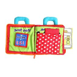 Novelty Intelligence Development Cloth Bed Book Early Develo