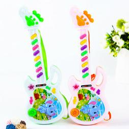 Electric Guitar Toy Musical Play For Boy Girl Toddler Learni
