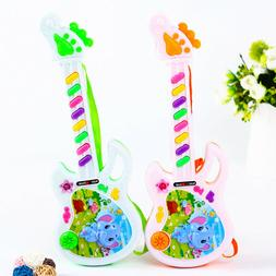 Electric Guitar Toy Musical Play For Kid Boy Girl Toddler Le