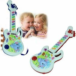 Electric Guitar Toy Musical Play Kid Boy Girl Toddler Learni