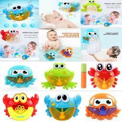 Electronic Bubble Musical Maker Bath Baby Kids Toys Bath Sho