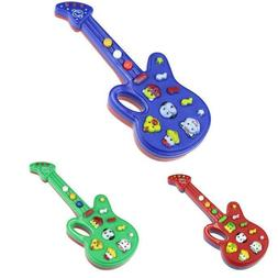 Electronic Guitar Toy Nursery Rhyme Music Children Baby Kids