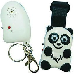 Child Guard Electronic Kid Safety Panda Clip transmitter and