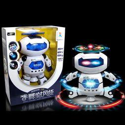 Electronic Walking Dancing Smart Space Robot Astronaut Kids