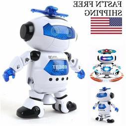 Electronic Walking Toys Boys Robot Kids Toddler Astronaut 3