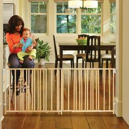 Extra Large Baby Dog Gate 5 6 7 8 9 ft Foot Wide Long Safety