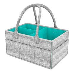 FA- Portable Felt Baby Diaper Wipes Pacifier Toys Storage Ba