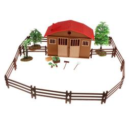 Farm Animal People Play Figures Set for Toddlers Children DI