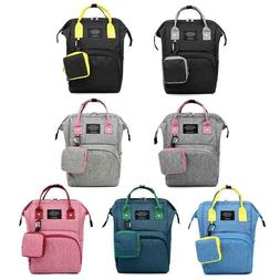 Fashion Diaper Bag Backpack Large Capacity Travel Nursing Ba