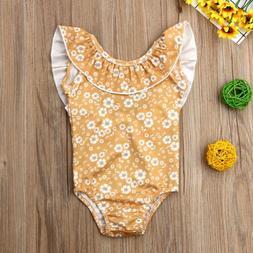 Fashion Kid Baby Girls Floral BIkini Swimwear Swimsuit Bathi
