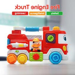 Fire Engine Truck Early Learning Sound Educational Developme