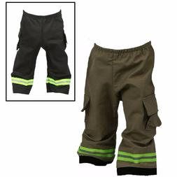 FIREFIGHTER Costume Baby Pants Look Like Turnout Bunker Gear