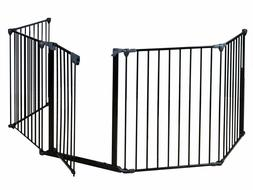 Fireplace Fence Baby Safety Fence Hearth Gate BBQ Metal Fire