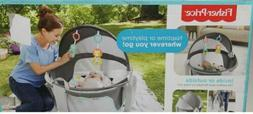 Fisher Price Bubbles 2in1 On the Go Baby Dome Travel Portabl